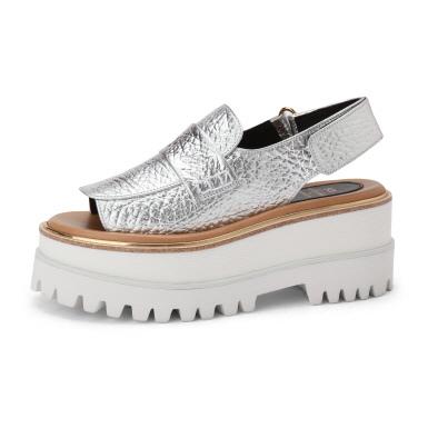 Suecomma Bonnie厚底鋸齒魚口涼鞋NT-14800