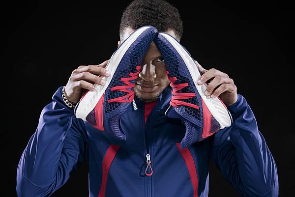 加拿大短跑傳奇Andre De Grasse 為PUMA IGNITE NETFIT拍攝系列宣傳照