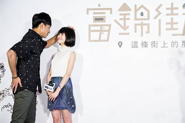 酷瞧原創戲劇富錦街演員徐韜今生日,壁咚連俞涵,小鹿亂撞 (1)