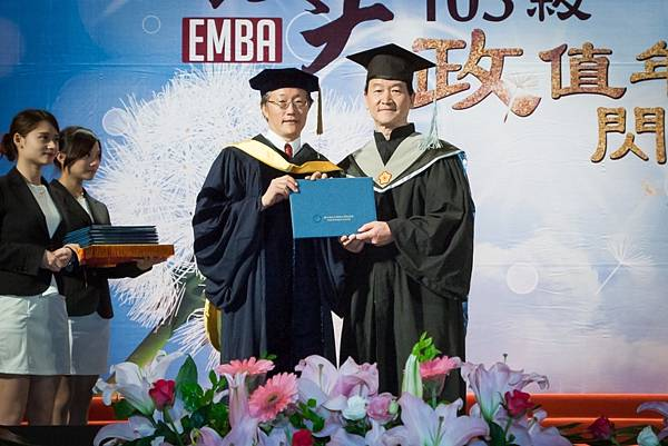 政大EMBA 全球企業家組-凱撒飯店連鎖副總裁 皮金營 (照片提供:政大EMBA)