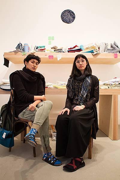 菲律賓藝術家Katherine Nuñez和Issay Rodriguez獲邀參與萬寶龍藝術收藏系列計畫,作品正於2017威尼斯雙年展展出。(1)