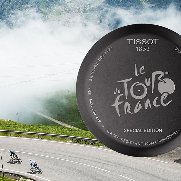 天梭表再度征戰自行車賽最高殿堂