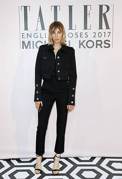 英國超模Edie Campbell出席Michael Kors 倫敦派對