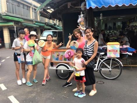 原味本舖女孩將出現在北中南各大景點!全台民眾只要鎖定出沒地點、替此次【原味本舖巡迴挑戰】加油,並與原味本舖女孩及腳踏車一同拍照,即可免費獲得冰品!-1