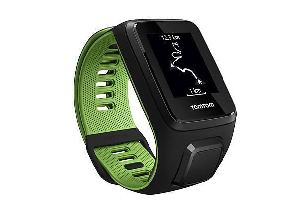 【2017 TomTom父親節獻禮】TomTom GPS跑步運動錶RUNNER 3超越者_旗艦款(音樂+心率)_父親節優惠價NT6,660