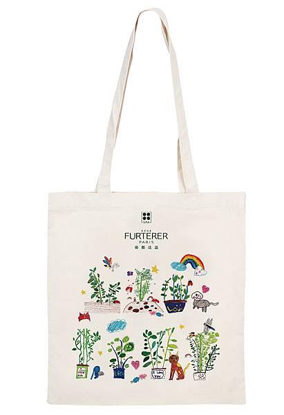 由平等國小的小小農們所繪製的彩繪幸福提袋