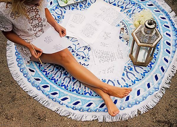 Vagabond-圖騰海灘巾$3,580