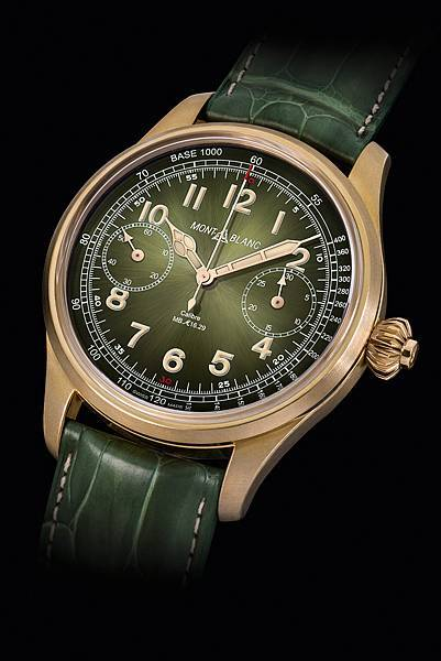 萬寶龍1858系列測速計時碼錶-Only Watch 17_情境圖(黑底)