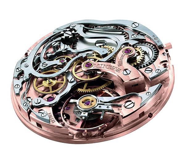 萬寶龍1858系列測速計時碼錶-Only Watch 17採用萬寶龍自製機芯MB M16.29
