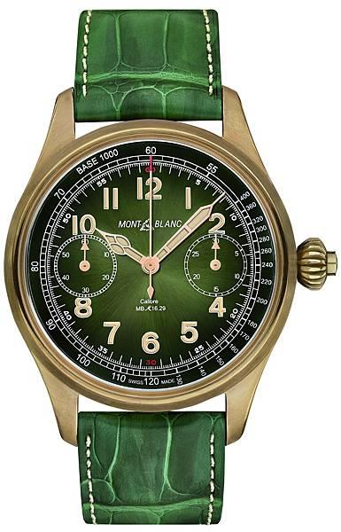 萬寶龍1858系列測速計時碼錶-Only Watch 17