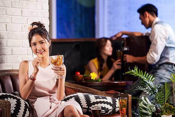 圖8.金色三麥餐廳今夏打造潮流新熱點,全新概念酒吧空間Sky Bar 即將成為社群打卡新焦點。