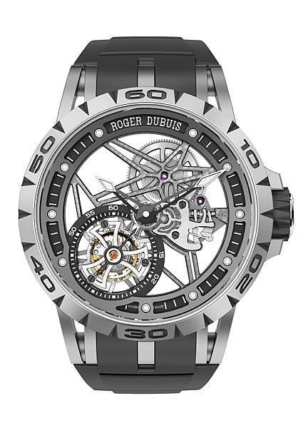 EXCALIBUR Spider 45 王者之劍系列鏤空飛行陀飛輪腕錶 NT.5,085,000 (2)