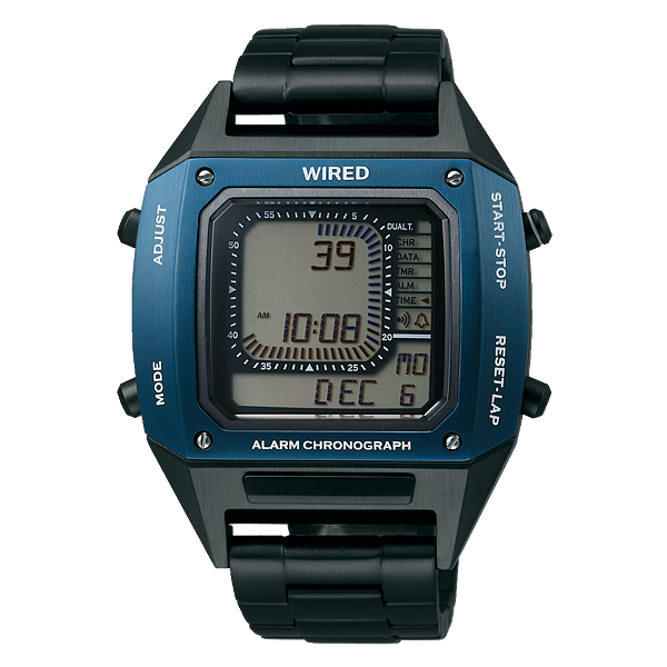 WIRED X BEAMS限定款-金屬藍AY8026X1