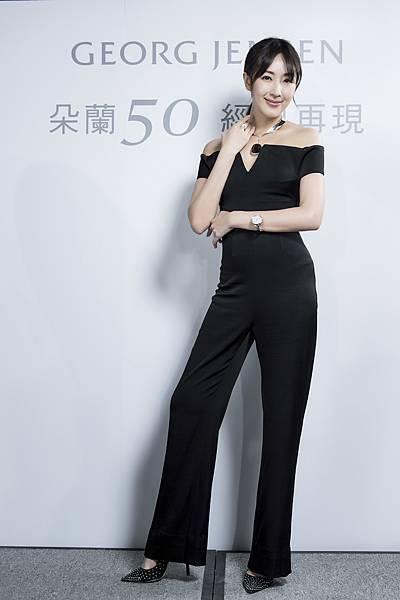 隋棠出席GEORG JENSEN「朵蘭50 經典再現」特展開幕記者會