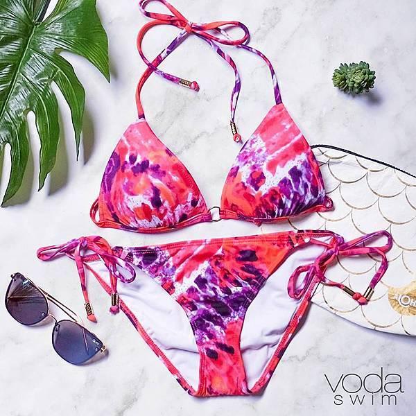 Voda Swim-金屬環美胸比基尼東加島嶼款上身$3,390