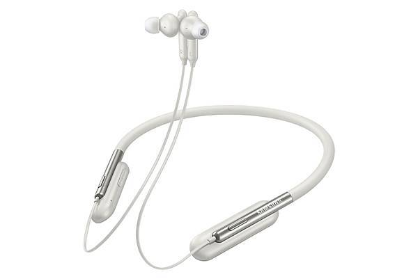 U Flex簡約頸環式藍牙耳機_雪白2
