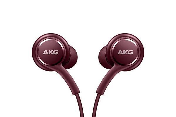 入耳式有線耳機 (由AKG調教)_酒紅2