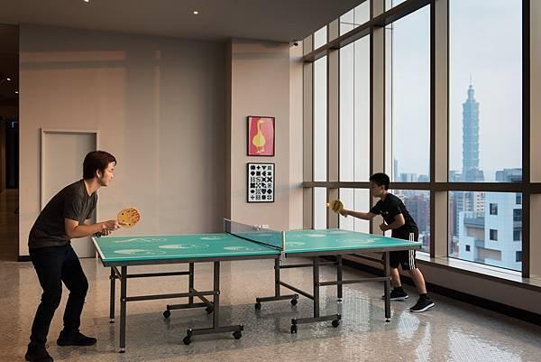 趣味乒乓球闖關大賽_圖片提供_台北松山意舍酒店