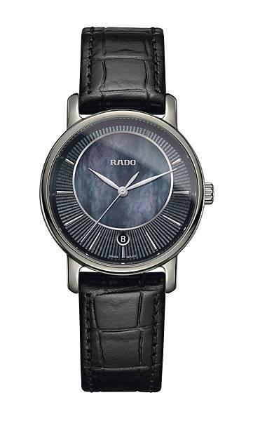 Rado DiaMaster鑽霸系列電漿高科技陶瓷女仕鑽錶 型號 R14064915 建議售價NTD47,200