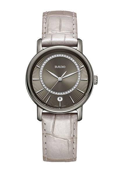 Rado DiaMaster 鑽霸系列女士鑽錶_建議售價NTD84,900