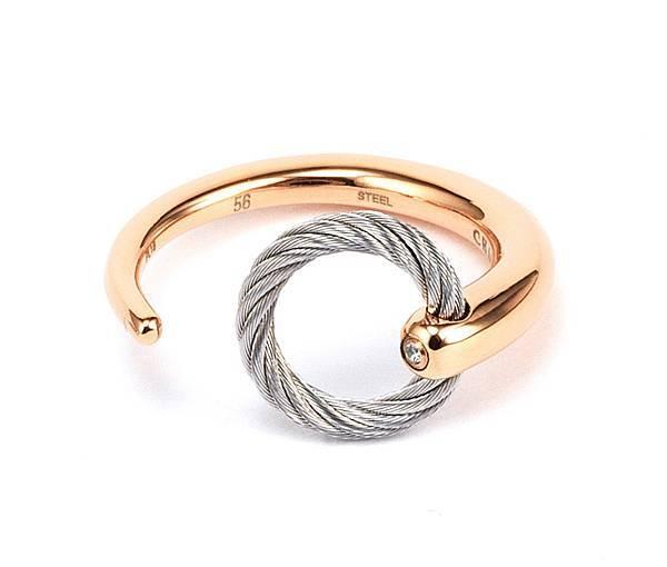 圖11_ INFINITY ZEN 禪風系列戒指玫瑰金款,建議售價NT5,000
