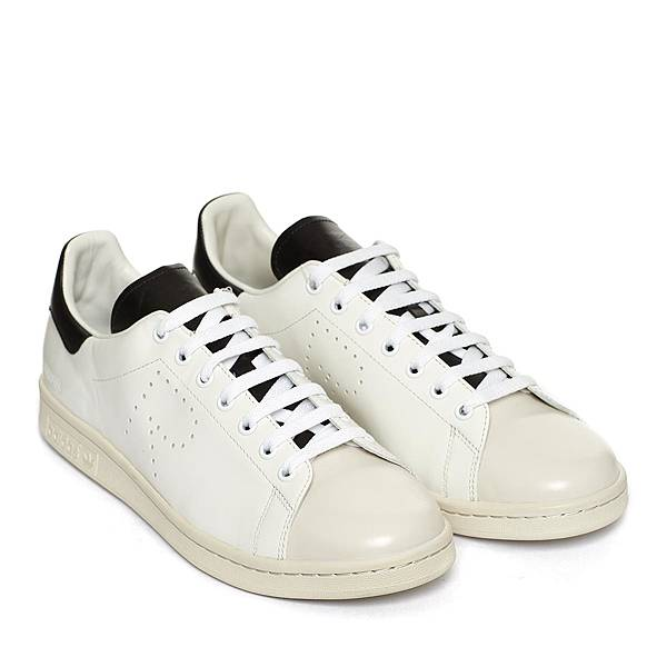 Raf Simons_經典R標誌黑尾白色休閒鞋_NT15800-2