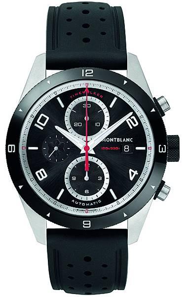 116096 萬寶龍TimeWalker時光行者系列自動計時腕錶,NT$138,000