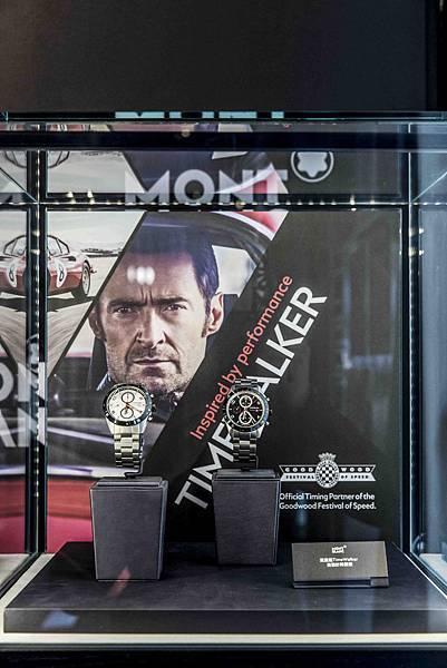 03.現場可以看到休傑克曼最新形象視覺廣告與全新TimeWalker系列腕錶