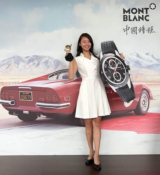 中國鐘錶行銷經理Janice