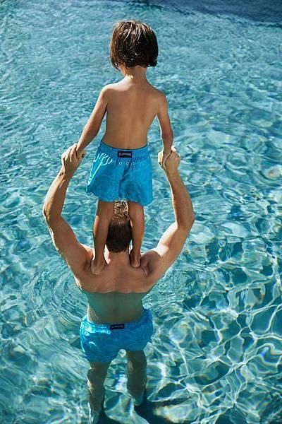Vilebrequin-海豚雙顯色泳褲$8,200