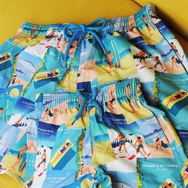 Vilebrequin-復古印花海灘褲$9,500