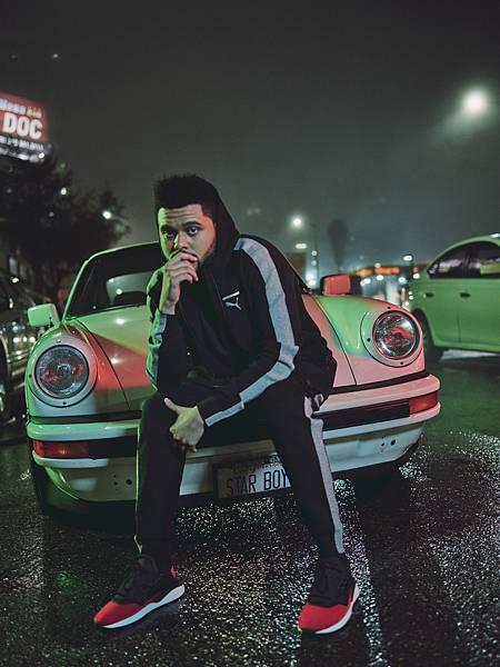 新世代潮流狂人威肯 (The Weeknd) 擔任PUMA TSUGI Shinsei Nido形象拍攝