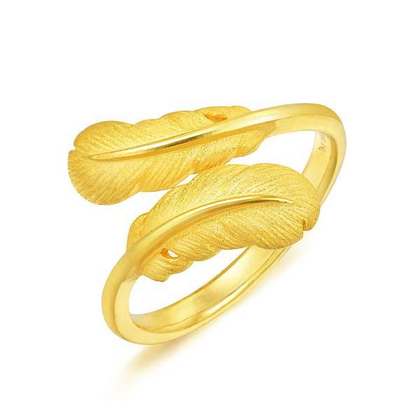 點睛品Love Décodé「愛情密語」999黃金戒指