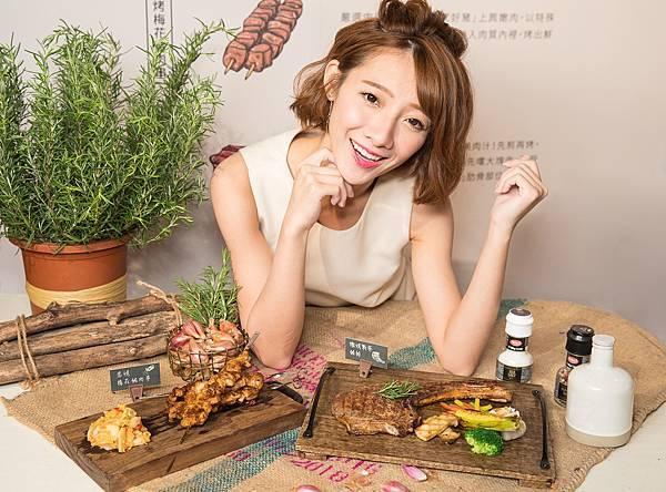 圖3.Farm to Table,金色三麥餐廳選用台灣小農-良作工廠高品質的「究好豬」,精心打造在地鮮食餐桌