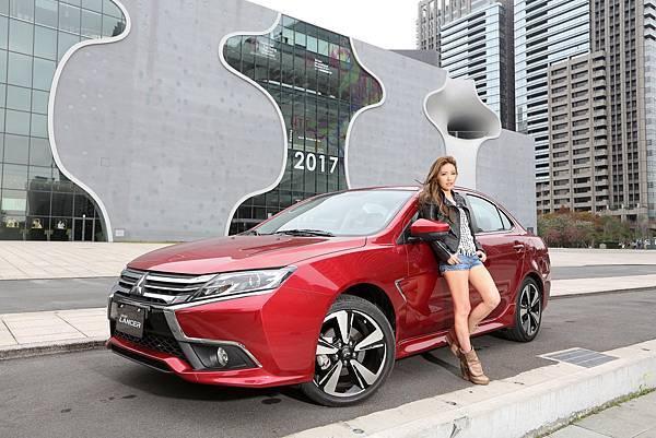完美女神許維恩將於8月26日出席「真愛菱距離」換車聯誼活動 駕Grand Lancer迎七夕