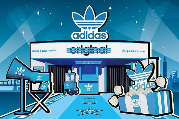【形象照】adidas Originals三片葉巡迴電影院重磅登場-1