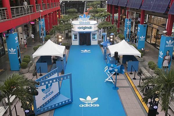 adidas Originals三片葉巡迴電影院重磅登場!本周末席捲信義區,將巡迴全台-3