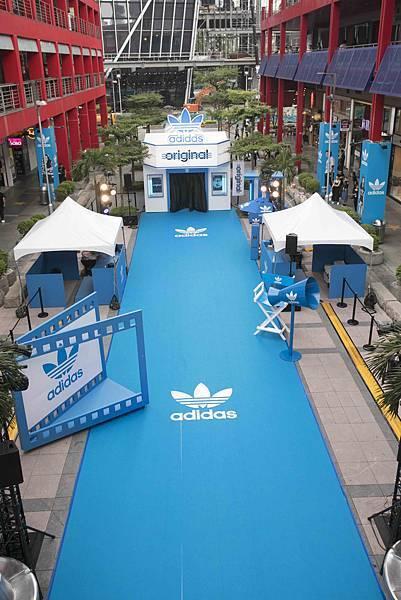 adidas Originals三片葉巡迴電影院重磅登場!本周末席捲信義區,將巡迴全台-2