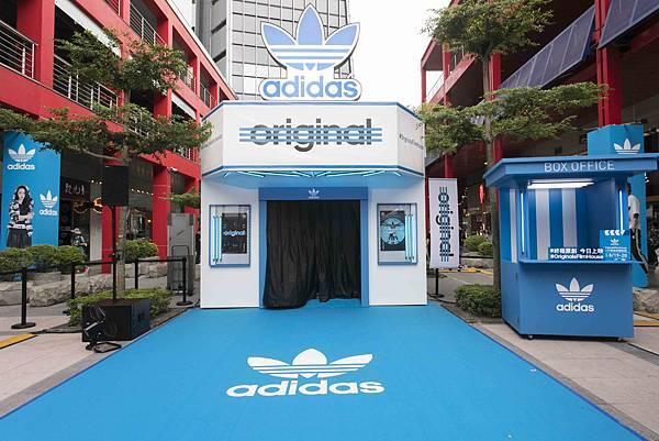 adidas Originals三片葉巡迴電影院重磅登場!本周末席捲信義區,將巡迴全台-4