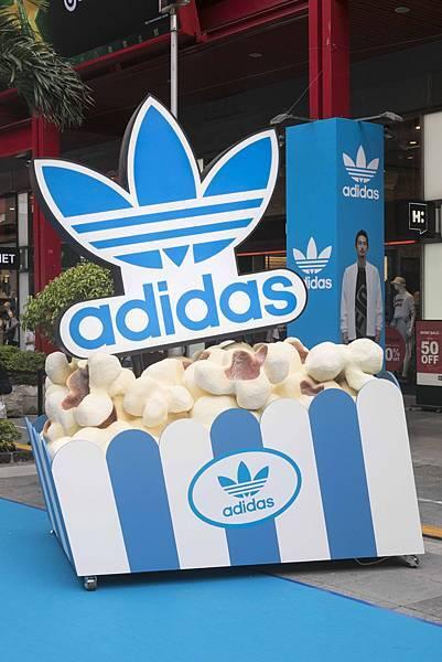 adidas Originals三片葉巡迴電影院重磅登場!本周末席捲信義區,將巡迴全台-5