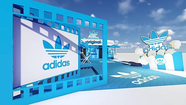 【形象照】adidas Originals三片葉巡迴電影院重磅登場-2