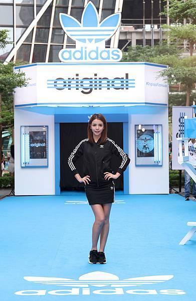 李毓芬出席adidas Originals Film House 三片葉巡迴電影院開幕,穿著全新EQT服裝系列與鞋款-2