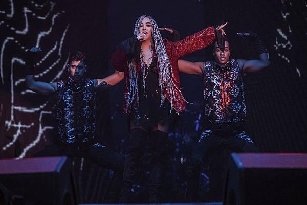 aMEI 極具爆發力的嗓音,完美呼應「他們創造無數天籟,我們創造無數樂迷」的【星盛事】宗旨