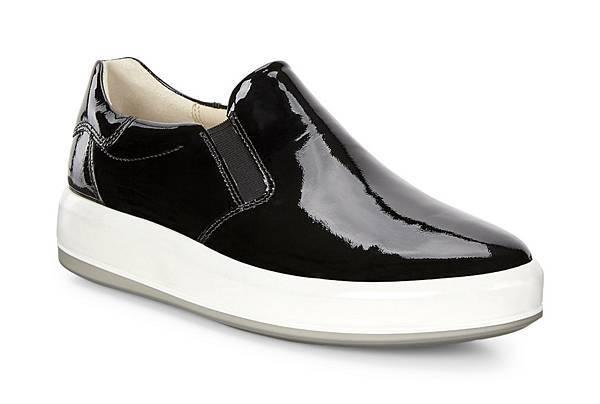 ECCO SOFT 9系列女鞋_無鞋帶款_黑_$6380