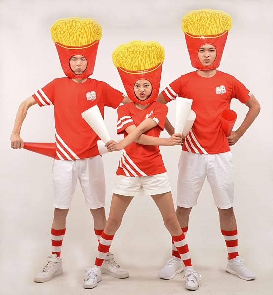 5. 2017「麥當勞紅襪愛路跑」中最受跑者喜愛的主題變裝活動再次登場,邀請跑者們發揮創意,表現你心目中的「M style」