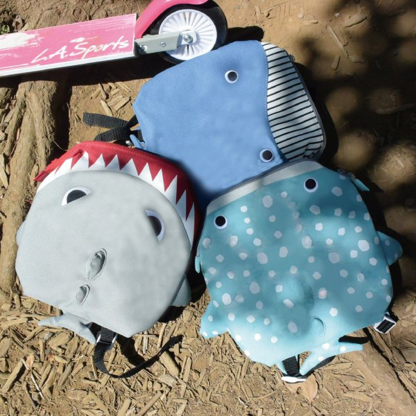 【新聞附件5】papupi海洋甜心鯊魚背包