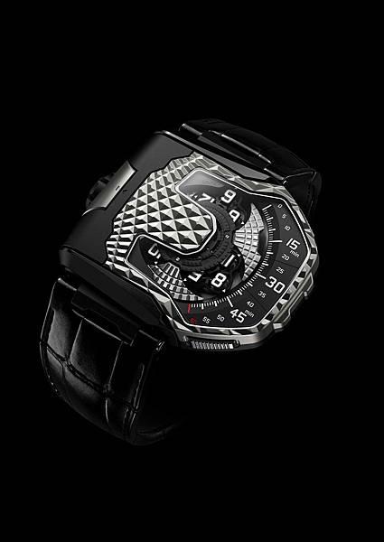 URWERK UR-T8鈦金屬腕錶,全球限量60只,建議售價NT$3,680,000