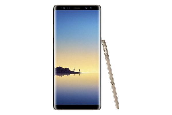 Samsung Galaxy Note8 星燦金_01