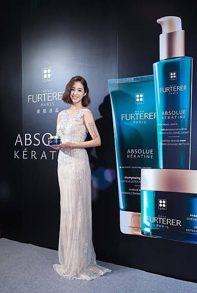 RF荷那法蕊60週年品牌大使莫允雯,分享秀髮重獲新生光澤養護秘訣