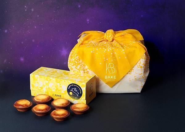 BAKE CHEESE TART 金月禮盒 - 日式風呂敷包裝